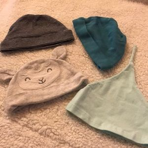 Other - Carters baby hats 0-3 months